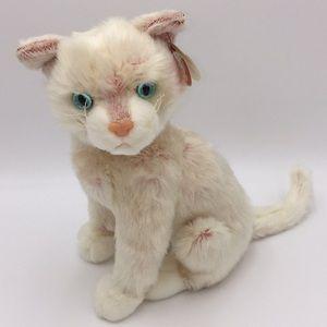 "10"" Ty Classic Blossom Cat Plush Vintage Animal"